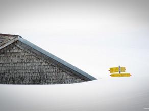 Schneewanderung Altmann