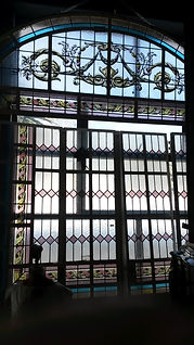 Cape Town Stained Glass window repairs broken leaded glass