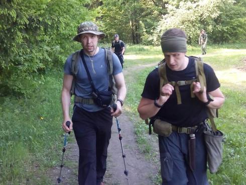 """29 мая команда Кобальт провела тренировку-подготовку к предстоящей """"Тропе мужества"""" на 70"""