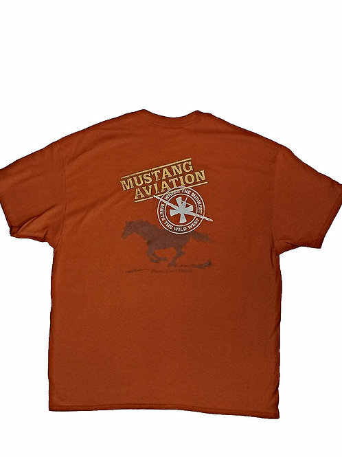 Men's Orange T-Shirt - Regular Fit