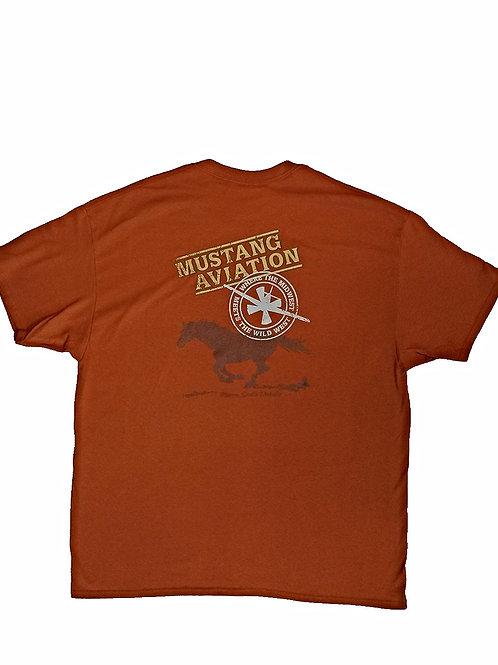 Men's Orange T-Shirt - Regular Fit