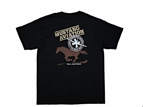 Men's Black T-Shirt - Regular Fit