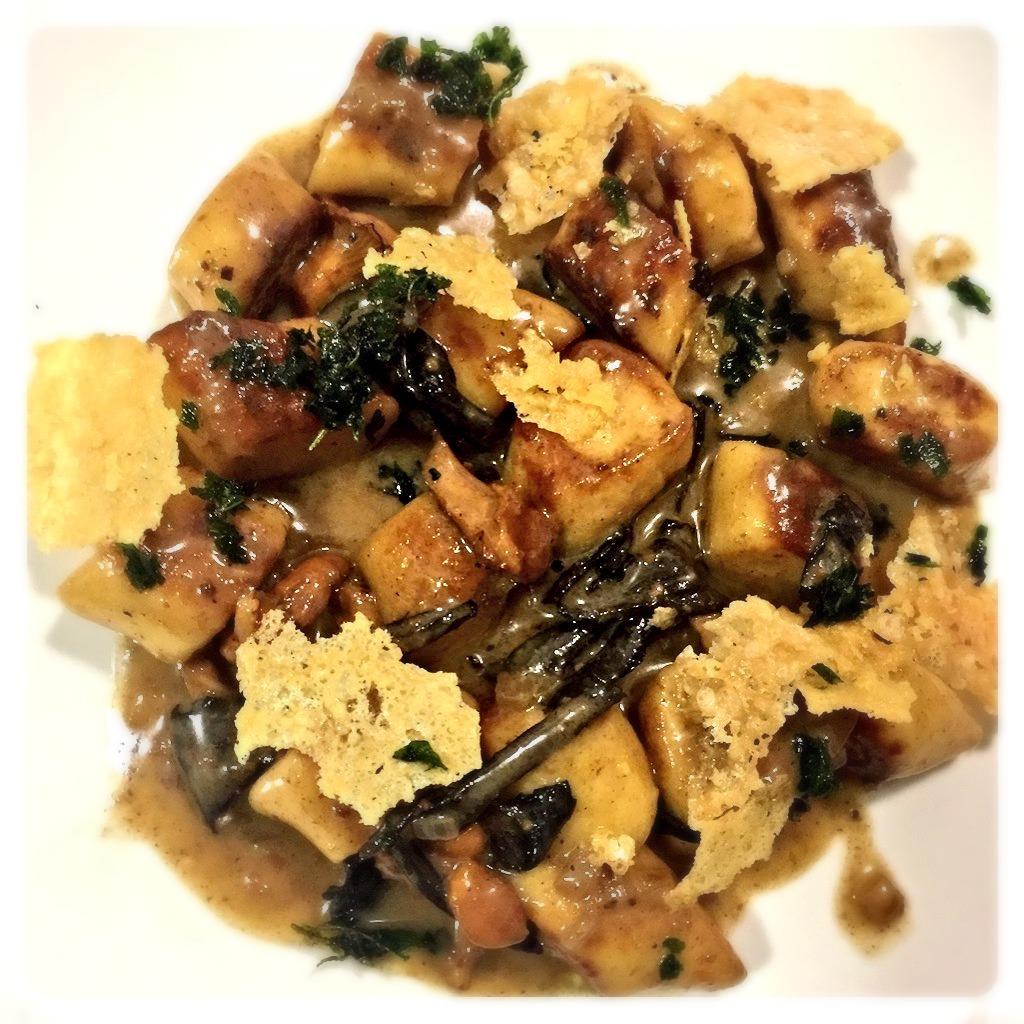 Gnocchi, wild mushroom, parmesan