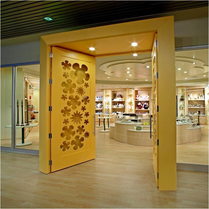 Credit Valley Hospital, Hospital Gift Shop, Storefront Design, Custom Doors, Sto