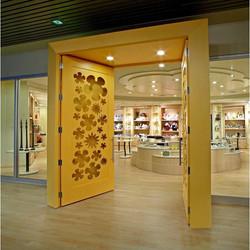Credit Valley Hospital, Hospital Gift Shop, Storefront Design, Custom Doors, Sto