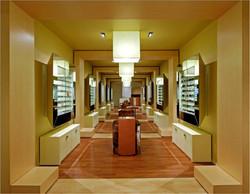 Long thin retail space