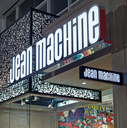 Jean Machine, Yorkdale, Toronto, Store Design, Retail Design