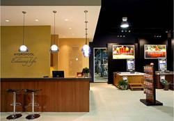 Hydropool, Spa Showroom, Hot Tub Showroom, Cash Desk, Reception Desk, Factory Sh
