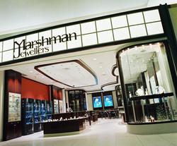 Marshman Jewellers, Jewellery Store, Custom Showcase, Lighting Design, Storefron