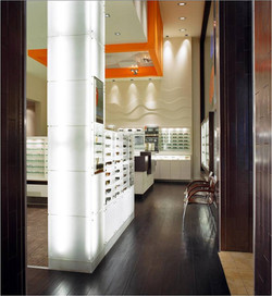 Seen Vision Care, Eyewear, Store, Optometry, Sunglass Display, Backlit, Yorkdale