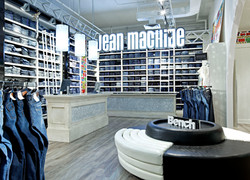 Jean Machine, Denim, Cashdesk, Yorkdale, Toronto, Jean Bar, Store Design, Retail