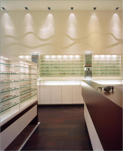 Seen Vision Care, Eyewear, Store, Optometry, Eyewear Showcase, Reception Desk, C