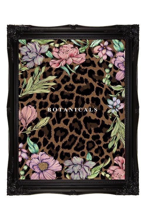Botanicals Leopard Print