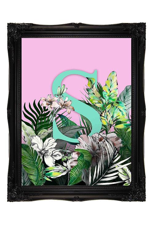 Personalised Enchanted Jungle Print