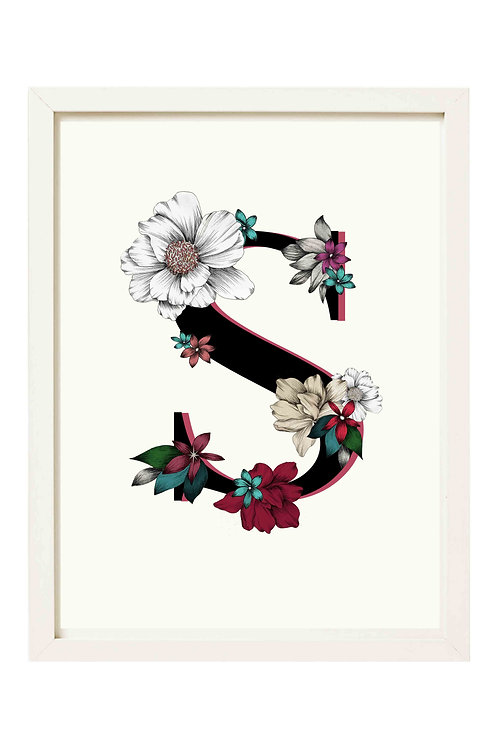 Personalised Botanical Print
