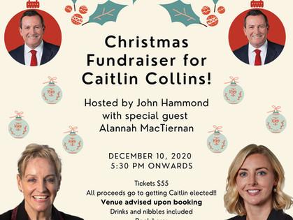 Christmas Fundraiser for Caitlin Collins