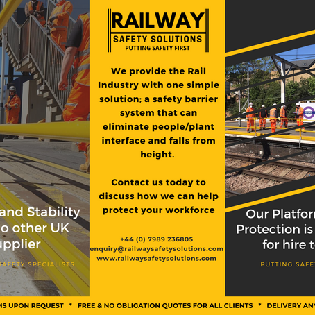 Railway Safety Barrier System