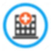 47614885-clinic-vector-icon-style-is-fla