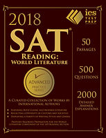 Learn more about IES Publications' SAT Reading Wold Literature!