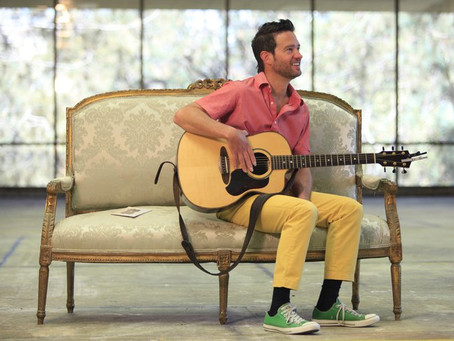 Michael all over San Diego's airwaves  - Union Tribune article and performance, Stopping by KUSI stu