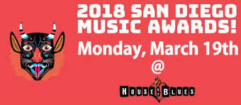 """""""Love and a Gun"""" Nominated for San Diego Music Award"""