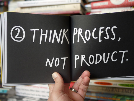Process vs. Product: Being vulnerable as an artist