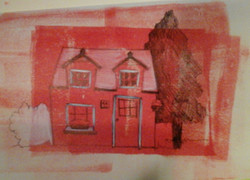 Little House on Red
