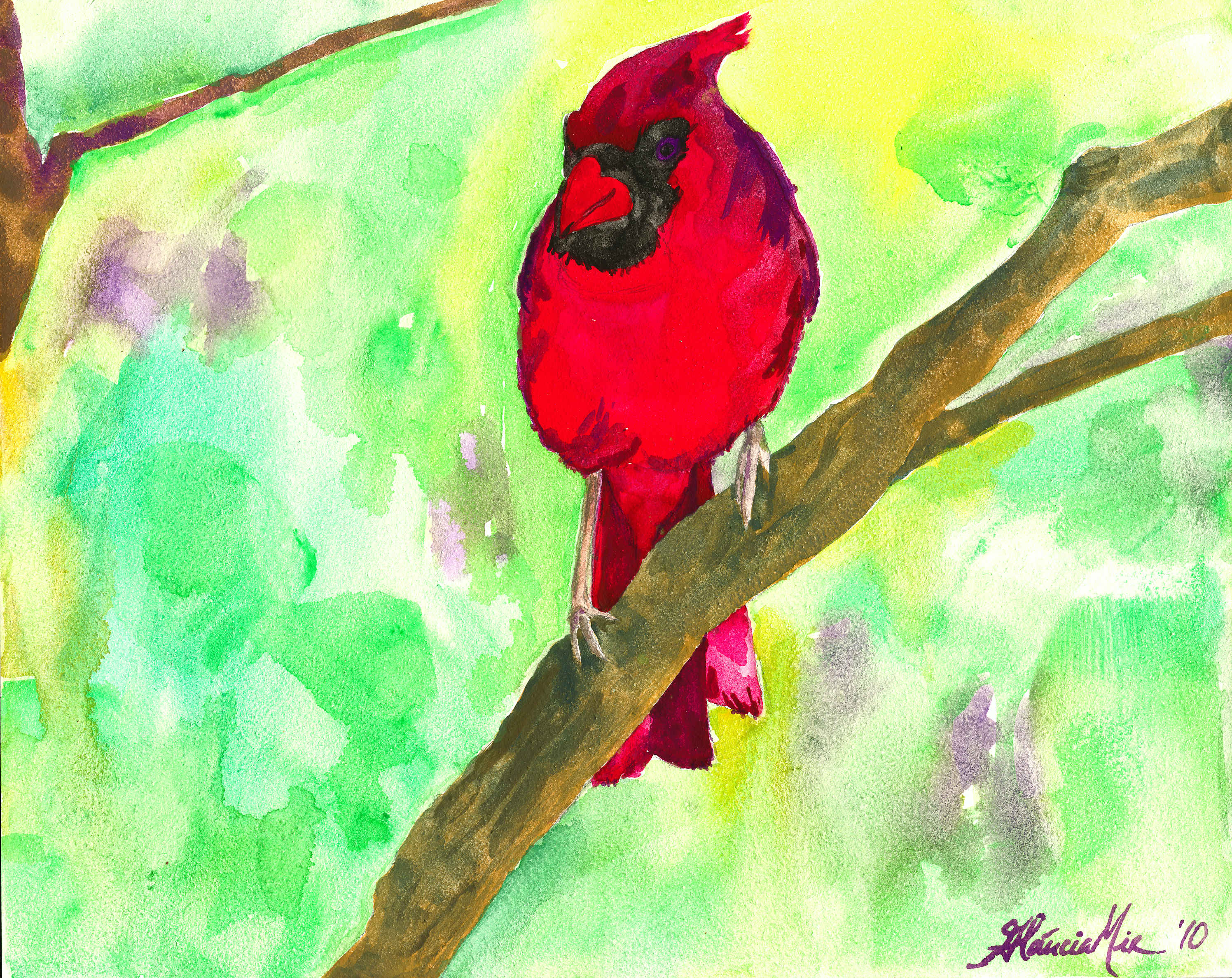 Red Cardinal for Lisa