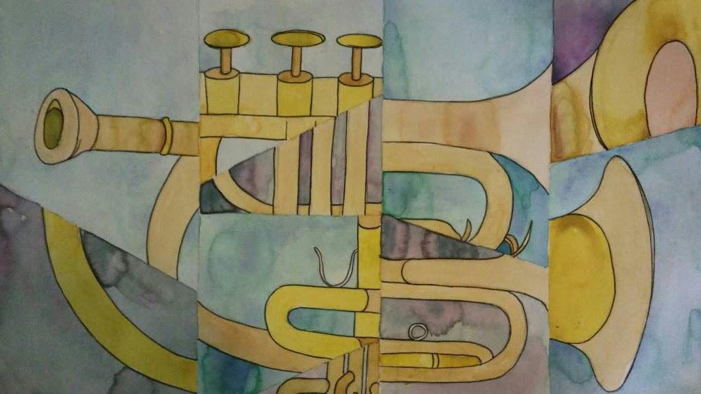 Broken Mirror Trumpet