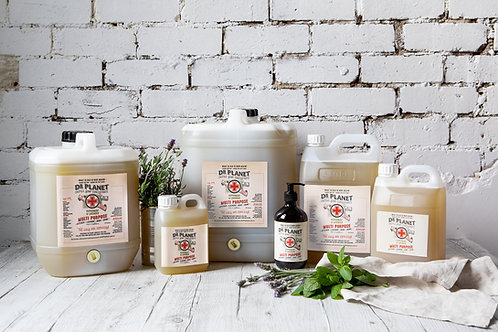 Dr Planet's Peppermint and Lavender Range