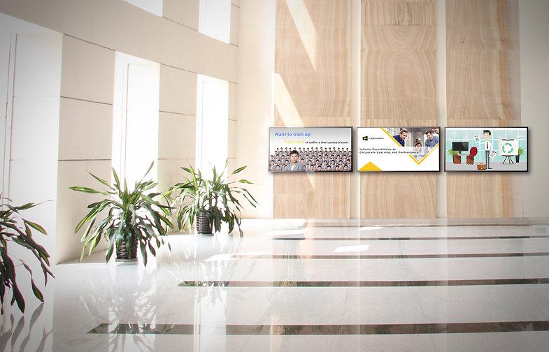 828553 3 TVs in hallway.jpg