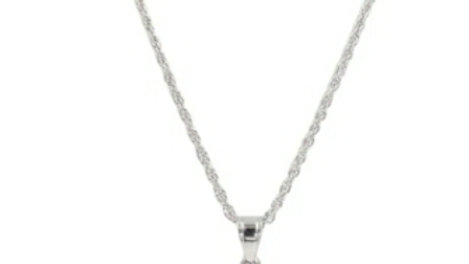 Silver Quartz Necklace