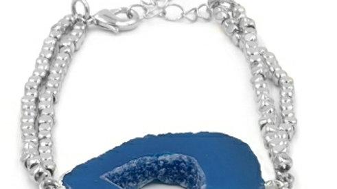 Silver Azure Bracelet