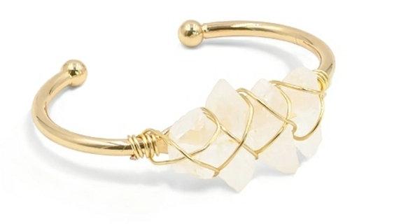 Gold Devi Bracelet