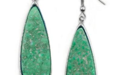 Jade Druzy Stone Earrings