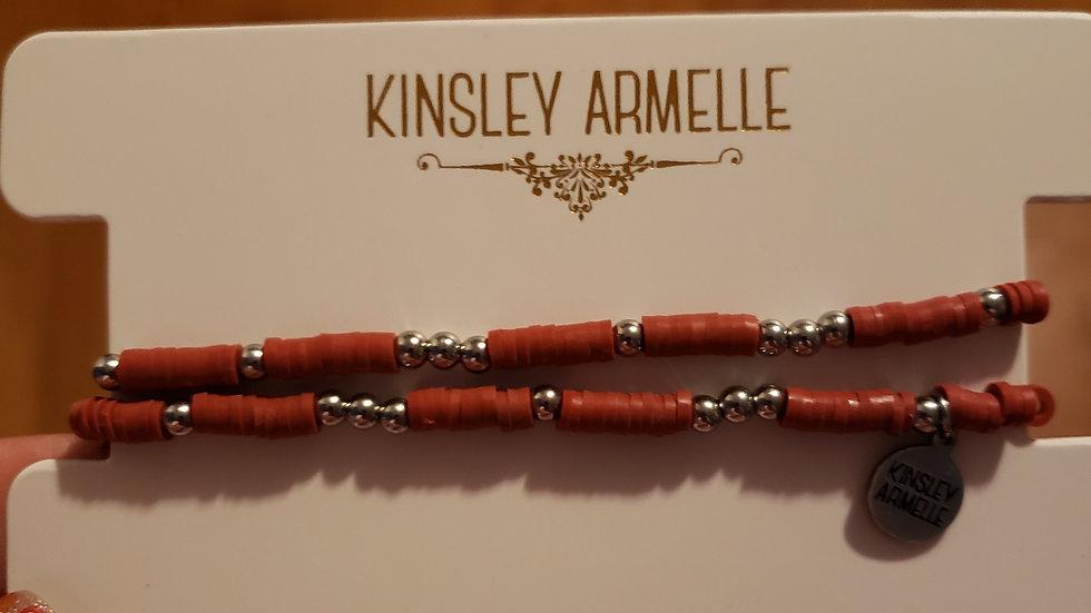 Crimson Bracelet Stack