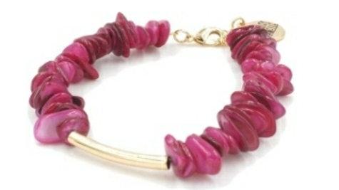 Raspberry Wine Bracelet