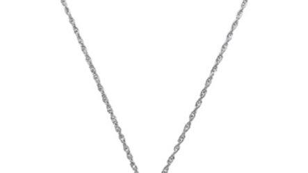 Druzy Stone Silver Necklace