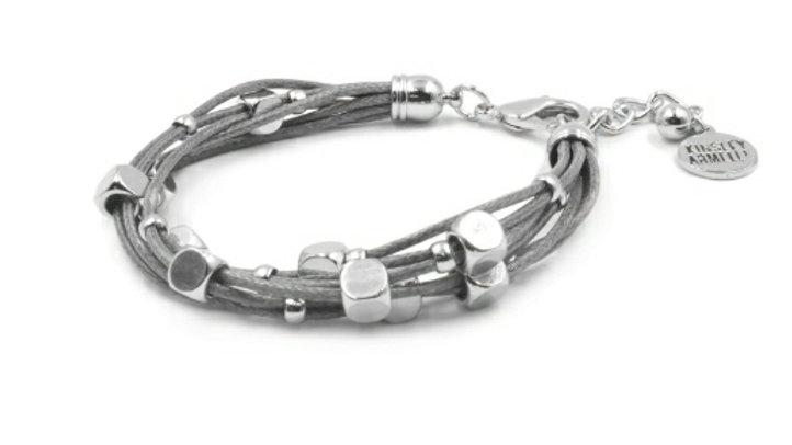 Silver Slate Bracelet