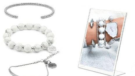 Silverpointe Bracelet Stack