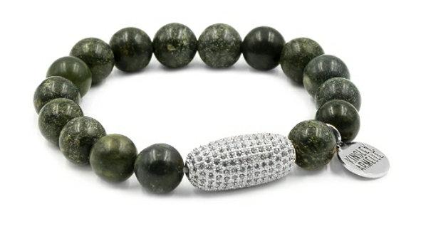 Silver Moss Bracelet
