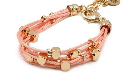 Scarlet and Gold Bracelet