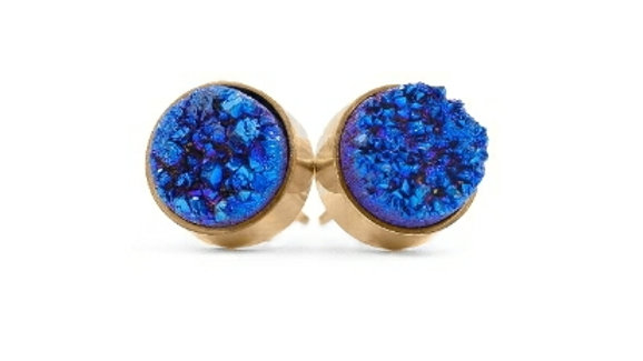 Ondine blue studs