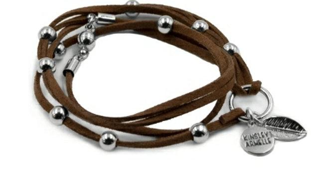 Silver Rust Bracelet