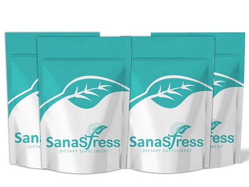 4 Sanastress (30 tablets-1000 mg) 2-4 Months