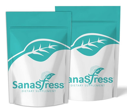 2 Sanastress (30 tablets-1000 mg) 1-2 Months