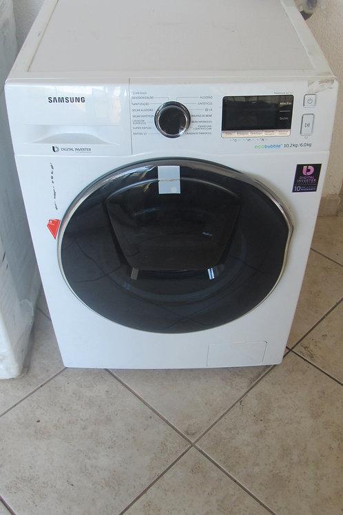 Lava e Seca Samsung 10,2kg Eco Bubble AddWash WD10K6410OW