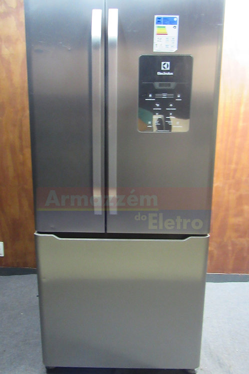 Geladeira Electrolux DM84X Frost Free French Door Inverse 579 Litros Inox