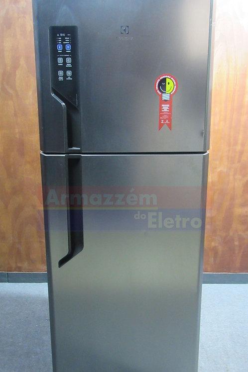 Refrigerador Top Freezer 431L inox TF55