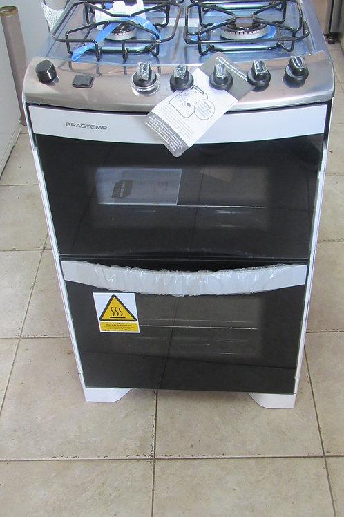 Fogão de Piso Brastemp Clean Maxi BFD4NAB 4 Bocas